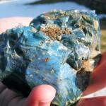 Blauwe steen