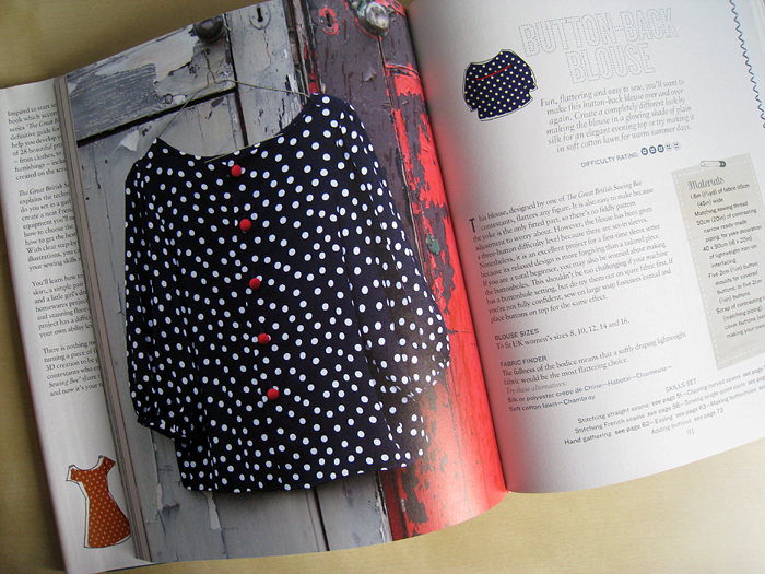 Button Back Blouse - The Great British Sewing Bee