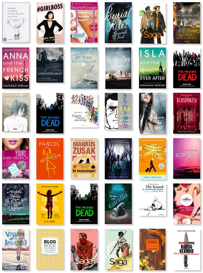 De boeken van 2014