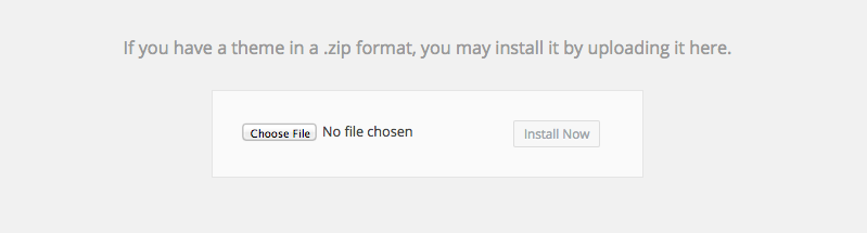 WordPress - Installeer eens een theme
