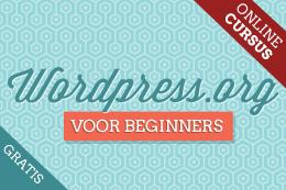 WordPress.org voor beginners