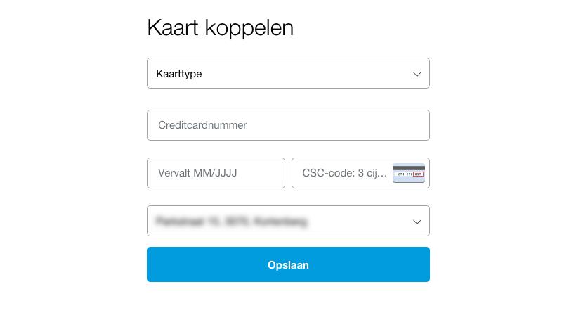 PayPal prepaid credit card
