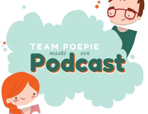 Team Poepie maakt een podcast